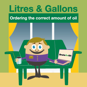 LITRES & GALLONS Ordering the correct amount of oil